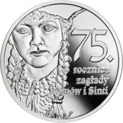 10 zł The extermination of Roma and Sinti - 75th Anniversary