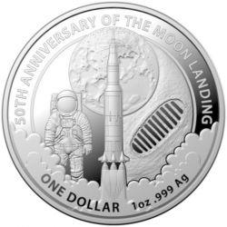 1$ Lądowanie na Księżycu 50 Rocznica