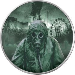 1 Hrywna Likwidator - Czarnobyl