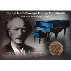 2 zł Ignacy Jan Paderewski Blister
