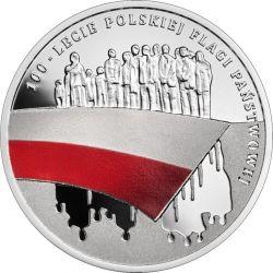 10 zł Flaga Państwowa - 100-lecie
