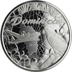 1$ Dominika, Wyspa Przyrody - EC8 II