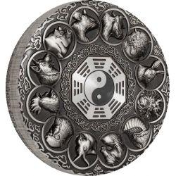 5$ Lunar Zwierzęta