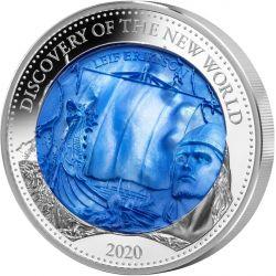 """25$ Odkrycie Nowego Świata """"Leif Erikson"""" - Macica Perłowa"""