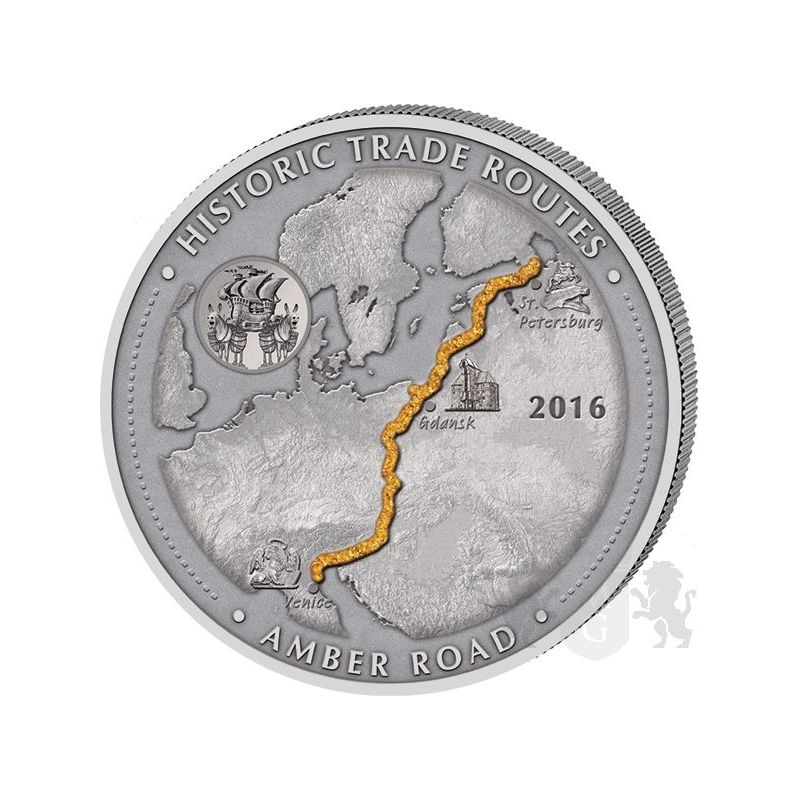 5000 Francs Amber Route - Historic Trade Routes