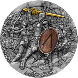 5$ Amazons - Woman Warrior