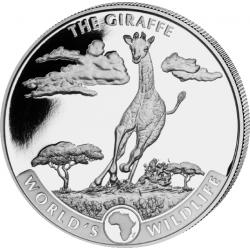 20 Franków Żyrafa - Przyroda Świata