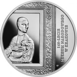 20 zł Muzeum Narodowe w Krakowie, 140-lecie