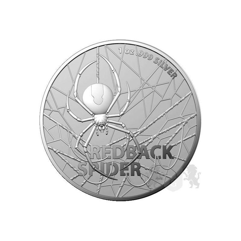 1$ Redback Spider - Najniebezpieczniejsze Stworzenia Australii