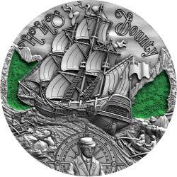 2000 Franków HMS Bounty - Złoty Wiek Żaglowców