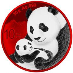 10 Yuan Panda Space Red