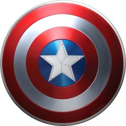 1$ Capitan America, Shield - Marvel