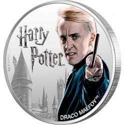 1$ Draco Malfoy - Harry Potter
