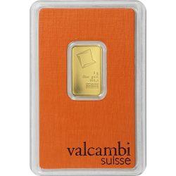 Gold Bar Valcambi