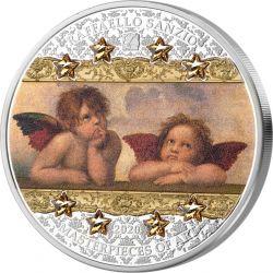 20$ ANGELS SISTINE MADONNA - Masterpieces of Art