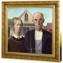 1$ Amerykański Gotyk - Skarby Światowego Malarstwa