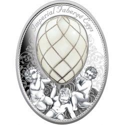 2$ Egg Diamond Trellis -Faberge