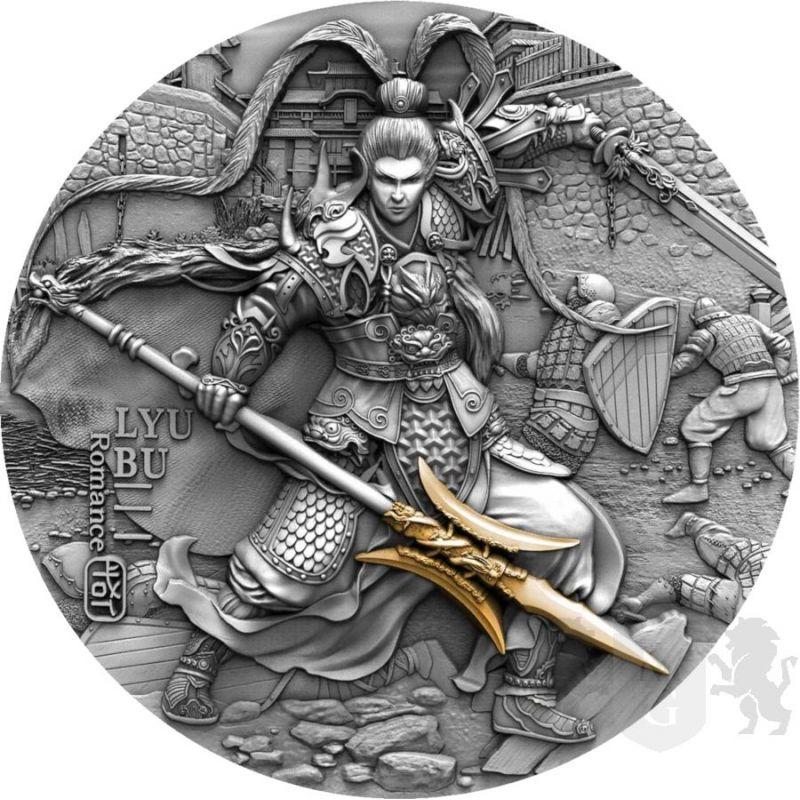 5$ Lyu Bu - Antyczni Chińscy Wojownicy