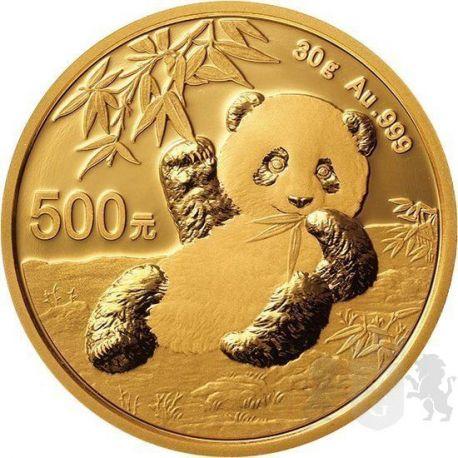 500 Yuan Panda