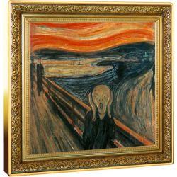 1$ Krzyk, Edward Munch - Skarby Światowego Malarstwa