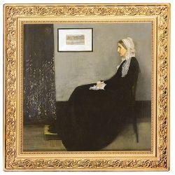 1$ Matka Whistlera, James McNeill - Skarby Światowego Malarstwa