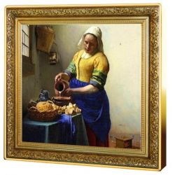 1$ Mleczarka, Jan Vermeer - Skarby Światowego Malarstwa