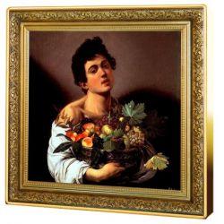 1$ Chłopiec z Koszem Owoców, Michelangelo Caravaggio - Skarby Światowego Malarstwa