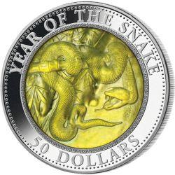 50$ Rok Węża - Macica Perłowa