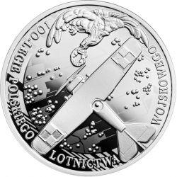 10 zł 100th Anniversary of the Polish Military Aviation