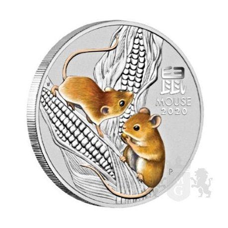 50¢ Rok Myszy