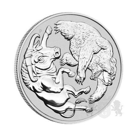 1$ Byk i Niedźwiedź