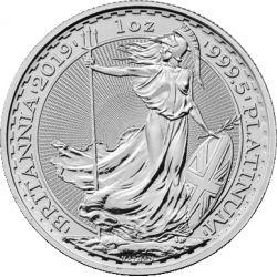 100£ Britannia, Platyna