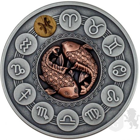 1$ Ryby - Znaki Zodiaku