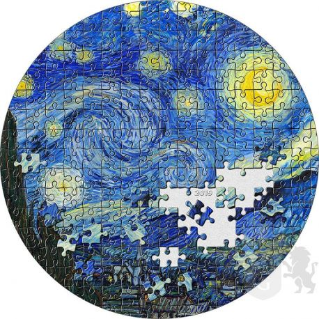 20$ Starry Night, Vincent van Gogh - Micropuzzle