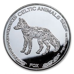 500₣ Fox - Celtic Animals