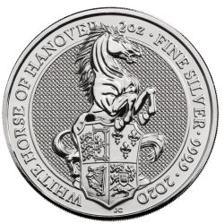 5£ The White Horse of Hanover - Queen's Beasts