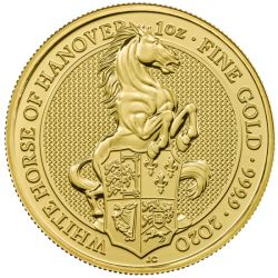 100£ The White Horse of Hanover - Queen's Beasts