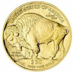 50$ Bizon Amerykański 1 oz Au 2020