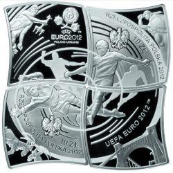 10 zł Mistrzostwa Europy w Piłce Nożnej UEFA 2012