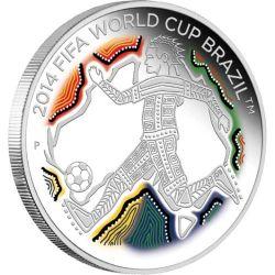 50¢ Mistrzostwa Świata w Piłce Nożnej, Brazylia 2014