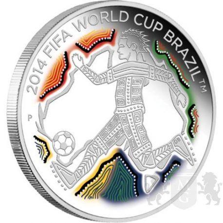50¢ FIFA World Cup, Brazil 2014