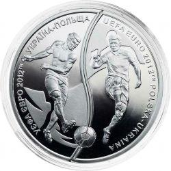 10 zł + 10 Hrywien Mistrzostwa Europy w Piłce Nożnej UEFA 2012