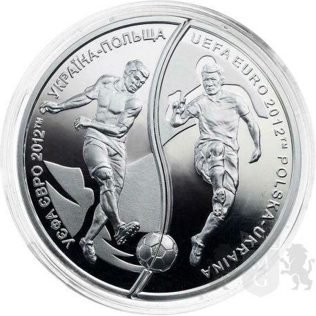 10 zł + 10 Hrywien UEFA European Football Championship 2012
