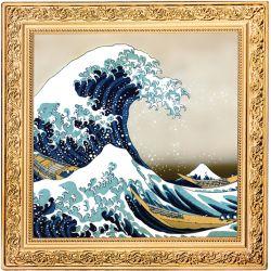 1$ Wielka Fala, Hokusai...