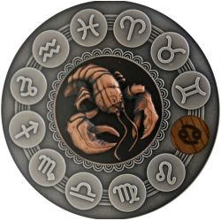 1$ Rak - Znaki Zodiaku