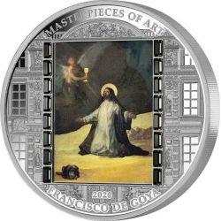 20$ Christ in Gethsemane,...