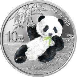 10 Yuan Panda Irradiated