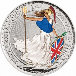2£ Britannia Napromieniowana