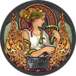 5 Cedis Hygieia - Goddesses...