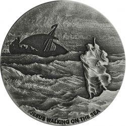2$ Jesus Walks on the Sea